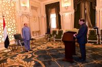 الفريق الركن علي محسن يؤدي اليمين الدستورية بمناسبة تعيينه نائباً للقائد الأعلى للقوات المسلحة