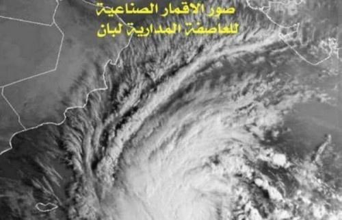 """أولى تأثيراته باليمن تبدأ خلال ساعات..إعصار """"لبان"""" يقترب من سقطرى"""