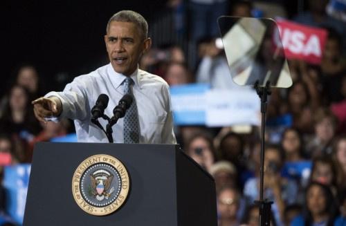 أوباما يدعو الأمريكيين للمشاركة في انتخابات الكونجرس