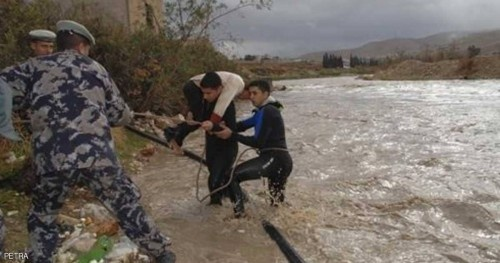 السيول تضرب الأردن مجدداً.. والحكومة تعلن أعداد الضحايا