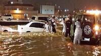 الإعلان عن أول حالة وفاة بسبب السيول في الكويت