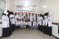 الهلال الإماراتي يقيم دورة تدريبية في الإسعافات الأولية بمحافظة تعز