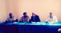 رئيس انتقالي شبـوة يلتقي بالقيادة المحلية في مديرية عتق مركز محافظة #شبـوة