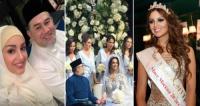شاهد بالصور.. ملك ماليزيا يتزوج ملكة جمال روسيا