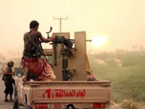 شاهد بالـ(الفيديو).. قوات العمالقة تحبط تسللاً للحوثيين بالحديدة وتقتل العشرات منهم