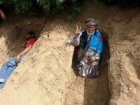 هيثم السعدي االبطل الذي حفر قبره بيده