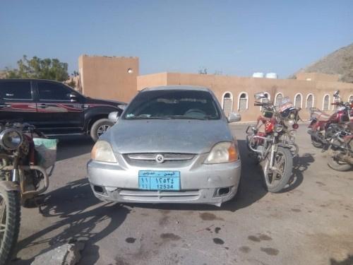الحزام الأمني بابين يلقي القبض على سائق سيارة وبحوزته كميات كبيرة من المخدرات