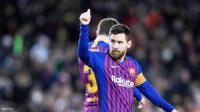 ميسي يسجل هدفه رقم 400 في الدوري الإسباني