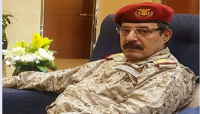 العميدان نصر وفضل والعقيد عبدالحميد الجعبي يعزون في استشهاد اللواء محمد طماح