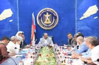 الرئيس الزُبيدي يناقش مع قيادات المحافظات تطوير أداء المجلس وتعزيز حضوره في المجتمع