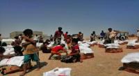 الهلال الأحمر الإماراتي يواصل توزيع المساعدات الإنسانية لمناطق الصبيحة