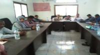 الهيئة التنفيذية لانتقالي لحج تقيّم أنشطتها للعام المنصرم وتناقش خطة العام الجديد