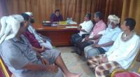 المدير العام لمديرية القطن يلتقي القيادة المحلية لانتقالي القطن