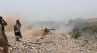 """مصـرع عدد من #الحـوثيين وإسقاط طائرة """"درون"""" بصد الجيش والمقاومة محاولة تسلل بالشريجة"""