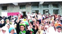 الهلال الإماراتي يعيد 1800 طالب وطالبة للدراسة في الخوخة