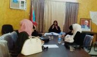 إدارة المرأة والطفل بالقيادة المحلية لانتقالي العاصمة عدن تعقد اجتماعها الدوري