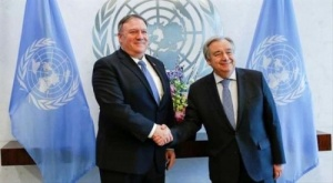 بومبيو وغوتيريش يبحثان تنفيذ اتفاق ستوكهولم