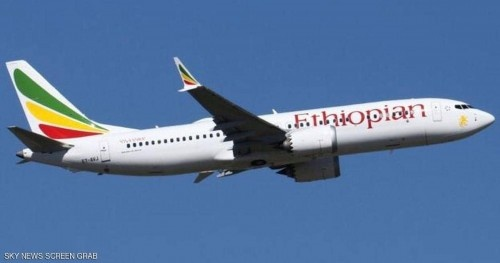 آخر لحظات الطائرة الإثيوبية.. دخان ثم دوران بالجو قبل السقوط