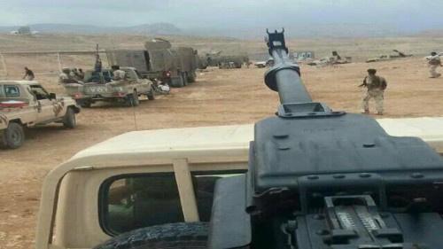 النخبة الشبوانية ترسل تعـزيزات عسكرية لتأمين بقية مديريات #شبـوة