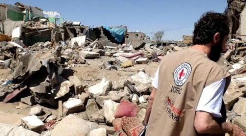 الصليب الأحمر : ليس أمام أهالي حجور وكشر من خيارات سوى الفرار