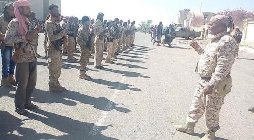قوات اللواء الأول مقاومة جنوبية #تعـزز جبهتي العود ومريس شمال #الضـالع