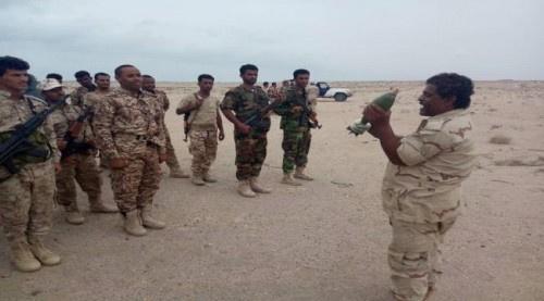 """مناورة عسكرية لكتيبة """"حزم 1 """" ضمن خطط العام التدريبي 2019م"""