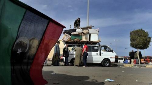 الأمم المتحدة : معارك طرابلس تسببت في نزوح آلاف