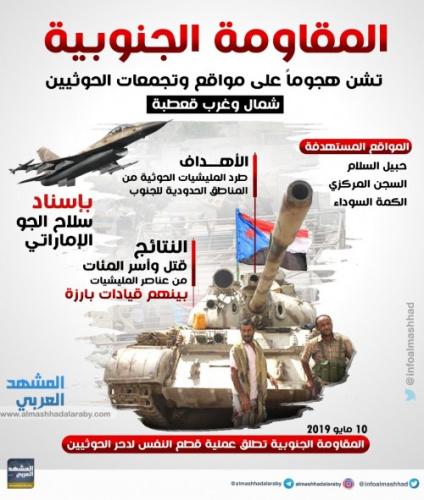 القوات الجنوبية تحسم معارك قعطبة وتطهرها من فلول #الحـوثي