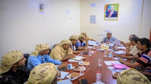 لجنة الحوار الجنوبي برئاسة اللواء بن بريك تلتقي حلف قبائل الجنوب العربي