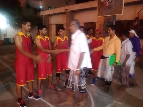 برعاية القيادة المحلية لانتقالي لحج.. انطلاق مباريات البطولة التنشيطية لكرة السلة