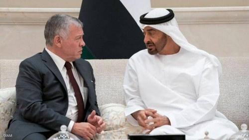 في إطار زيارة الملك إلى دولة الإمارات .. محمد بن زايد والعاهل الأردني يؤكدان قوة العلاقات بين البلدين