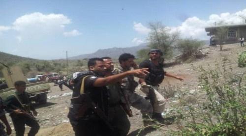 مدير أمن #الضـالع يزور جبهة شخب على الجهه الغربية من مديرية قعطبه
