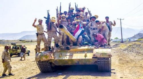 #المقاومة_الجنـوبية تتقدم بالفاخر وطيران التحالف يدك تعـزيزات للمليشيات الحوثية شمال #الضالع