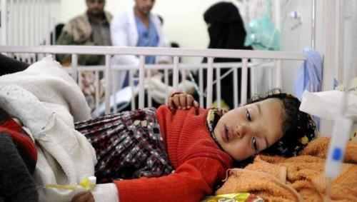 (10) آلاف حالة اشتباه بالكوليرا في #اليـمن خلال (4) أشهر