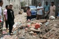 نيران سوقي تتفقد الأضرار التي خلفتها الأمطار بمديرية التواهي