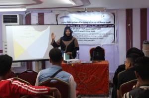 """مؤسسة """"ألف باء"""" تدشن المرحلة الثالثة من مشروع """"تحسين آليات السلام في #اليمن"""""""