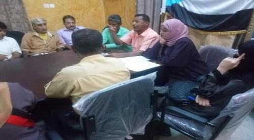 الإدارة الجماهيرية بانتقالي #العاصمة_عـدن تعقد اجتماعها الدوري