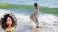 ما الذي جذب الجمهور في إطلالة بسمة بوسيل زوجة تامر حسني وهي على الشاطئ؟