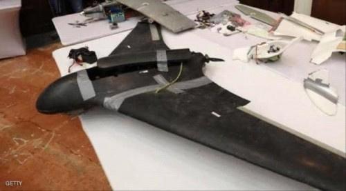 """سقوط طائرة حوثية مفخخة على المدنيين بـ""""عمران"""""""