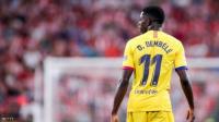 """برشلونة يفقد صبره بعد """"استهتار"""" ديمبيلي المتكرر"""