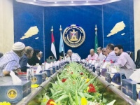 هيئة رئاسة #المجلس_الانتقالي تواصل اجتماعاتها بقيادات المرافق والمؤسسات الخدمية في #العاصمة_عدن