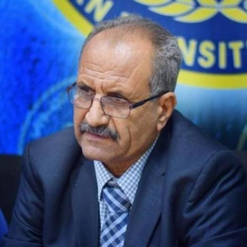 الجعدي: الانتقالي لم يعتدِ على موارد المؤسسات الواقعة تحت سيطرته
