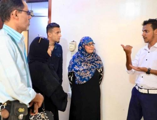 رئيسة وأعضاء دائرة حقوق الإنسان بالانتقالي يقومون بزيارة تفقدية للهيئة المواصفات والمقاييس وضبط الجودة بـ#العاصمة_عدن