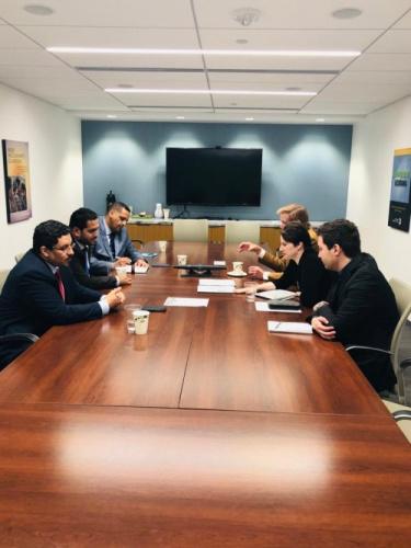 عسكر يستعرض مع خبراء معهد واشنطن أوضاع حقوق الانسان في #اليمن