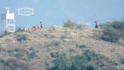 شاهدبـ(الفيديو).. لحظة اقتحام القوات المسلحة الجنوبية لمتارس المليشيات الحوثية في حجر شمال غربي #الضالع