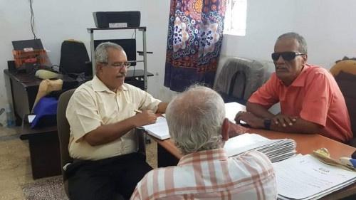 أعضاء بانتقالي #العاصمة_عدن يتفقدون إتحاد المعاقين وجمعية ذوي الاحتياجات الخاصة بالمنصورة