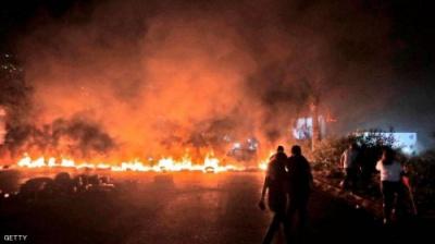تصاعد المواجهات في لبنان.. قتيلان وعشرات الجرحى في ثاني أيام الاحتجاجات
