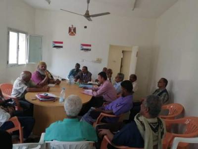 الهيئة التنفيذية لانتقالي دارسعد تعقد اجتماعها الدوري الموسع