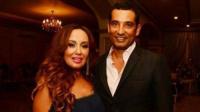 زوجة عمرو سعد تُعلن انفصالهما بعد زواج 11 عاما برسالة تثير الجدل!