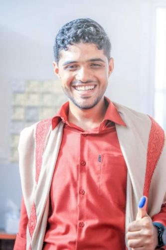 """تهنئة بمناسبة عقد القران للشاب الخلوق المهندس """"أحمد شهاب القاضي """""""
